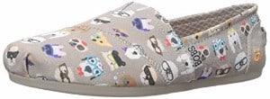 Skechers Bobs Plush Kitty Smarts Womens Slip On Flats