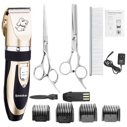 Sminiker Professional Rechargeable Cordless Grooming Clippers