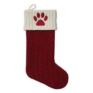 St Nicholas Pet Stocking for Dog Cat Animal 21 Holiday Knit Christmas Stocking
