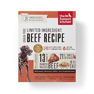 The Honest Kitchen Dehydrated Minimalist Limited Ingredient Dog Food