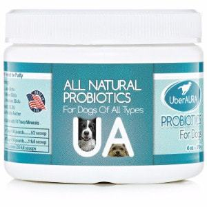 UberAURA Premium Probiotics for Dogs