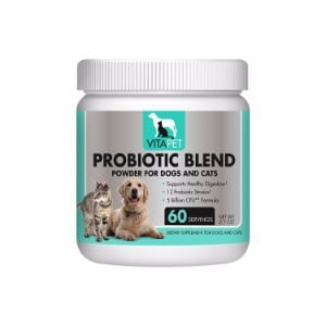 Vitapet Probiotic Powder Blend For Dogs and Cats