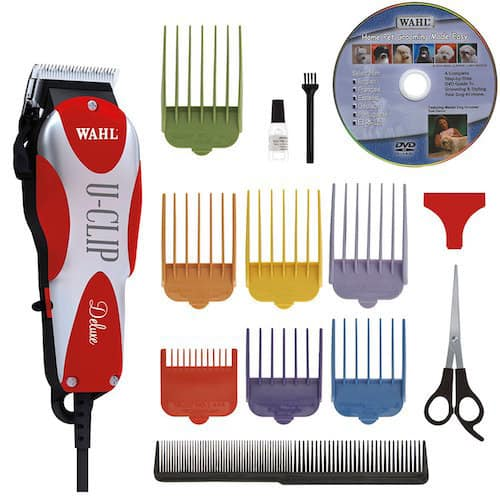 wahl animal deluxe uclip pet grooming kit