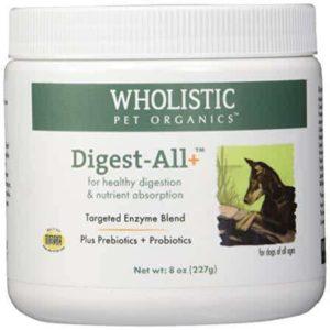 Wholistic Pet Organics Digest-All Plus Supplement