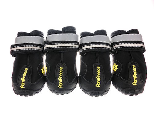 Xanday Waterproof Dog Shoes with Reflective Straps and Wear-resisting Soles