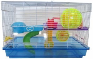 YML Clear Plastic Hamster/Mice Cage