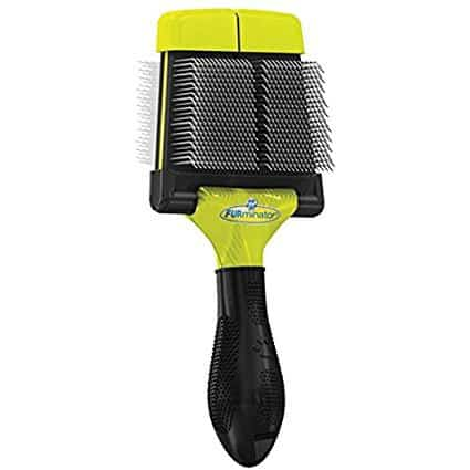 FURminator Dog Slicker Brush, Firm
