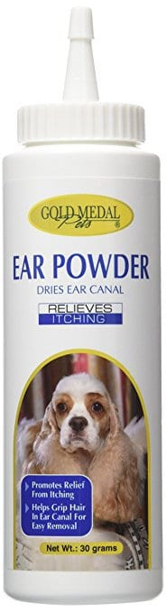 Gold Medal Groomers Ear Powder