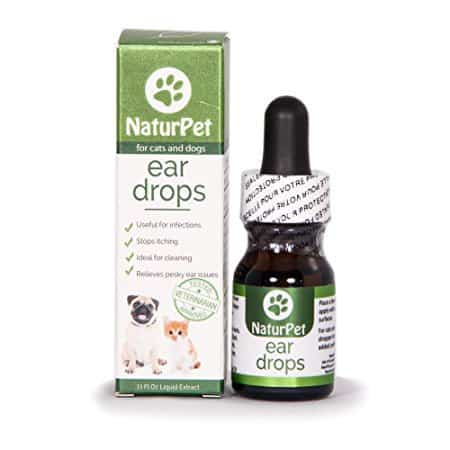 NaturPet Ear Drops | Natural Ear Infection Medicine For Dogs