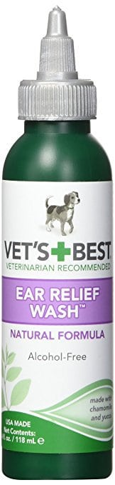 Vet's Best Ear Relief Wash Cleaner for Dogs