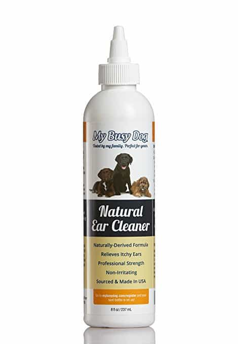 My Busy Dog Natural Dog Ear Cleaner