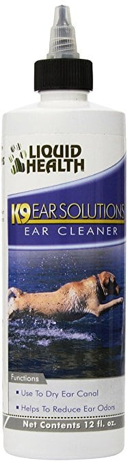 Liquid Health For Animals K9 Ear Solutions