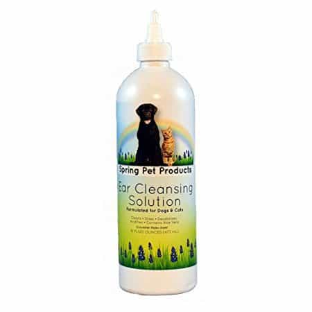 Spring Pet Ear Cleansing Solution for Dogs and Cats