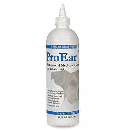 Top Performance ProEar Alcohol Free Pet Ear Cleaner