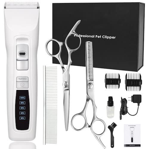 cyrico Professional Heavy Duty 2-Speed Turbo Grooming Clippers