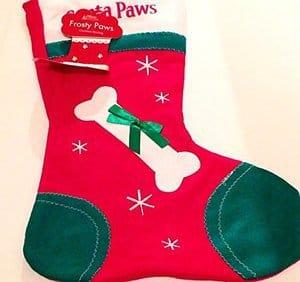 shop inc Dog Santa Paws Christmas Stocking