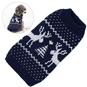 Petacc Dog Christmas Sweater