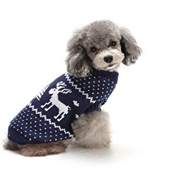 Blueberry Dog Holiday Festive Pet Sweaters