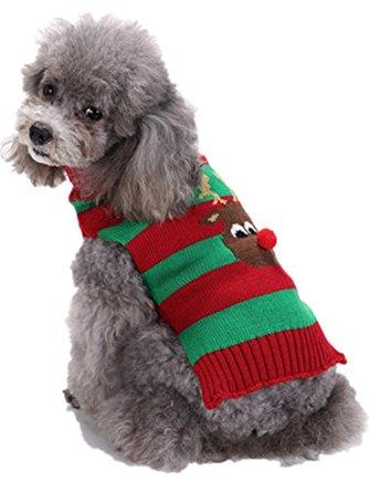 Sunward Pet Holiday Dog Sweater