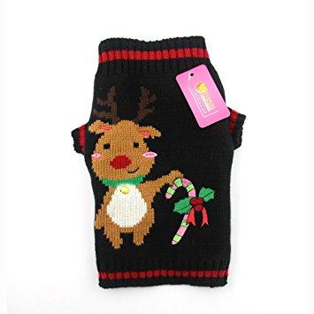 DOGGYZSTYLE Pet Holiday Christmas Dog Sweater