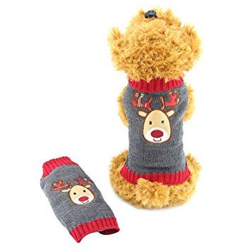 Delifur Dog Ugly Christmas Sweater