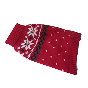Homedeco Pet Christmas Sweater