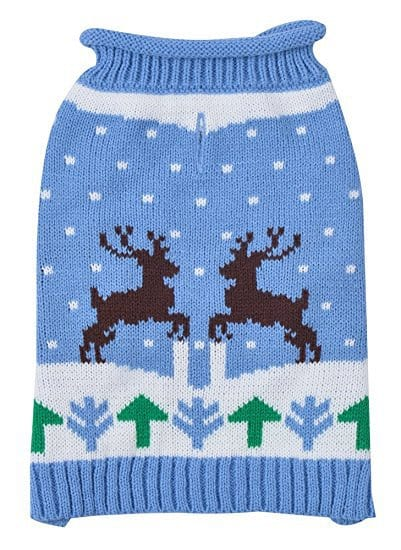 EXPAWLORER Christmas Dog Sweater