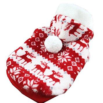 Kederastyle Bopstyle Pet Dog Christmas Clothes