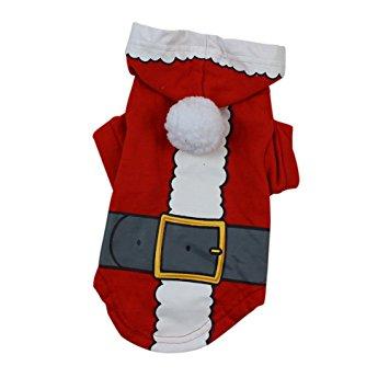 PanDaDa Christmas Pet Clothes