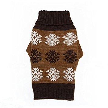JJ Store Winter Warm Pet Dog Crochet Sweater