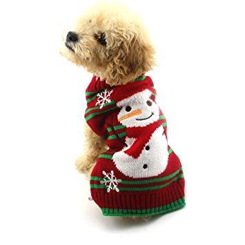 NACOCO Dog Snow Sweaters