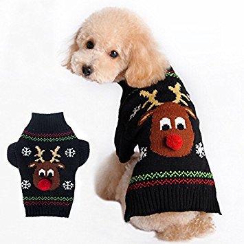 Ollypet Christmas Reindeer Knitwear