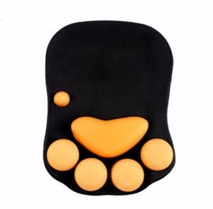 AQOGQOGA Mouse Pad Cat Paw