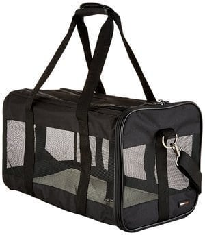 AmazonBasics Soft-Sided Pet Travel Carrier