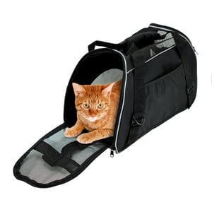 Bencmate - Soft Side Pet Carrier Travel Bag for Small Dogs and Cats Airline Approved Under Seat by Bencmate