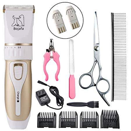 Bojafa Dog Grooming Clippers