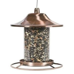 Charm Garden - Hanging Bird Feeder Metal Squirrel Proof Seed Outdoor Garden Wild Perky Pet NEW