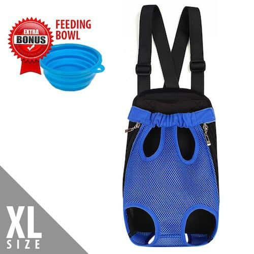 Dog Carrier Legs-Out Front Dog Backpack Carrier
