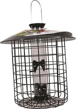 Droll Yankees SDC-B SunflowerMixed Seed Squirrel Proof Bird Feeder 15 Black