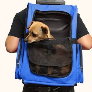 HARBO Pet Travel Carrier & Rolling Backpack
