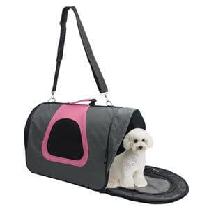 Jespet - Airline Approved Comfort 18 Inch Soft Sided Pet Travel Carrier Pet Portable Bag Home