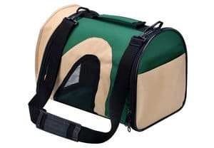 Kooltail - Pet Travel Carrier Airline Approved with Fleece Mat for Cats Puppy Dog Portable Bag