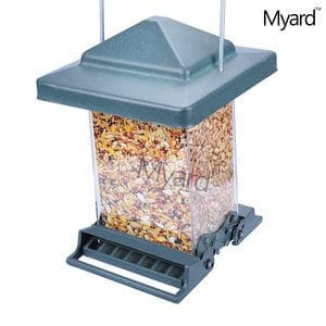 Myard ROCKET Double Sided Squirrel Resistant Proof Large Capacity Tube Bird Feeder MBF 75160