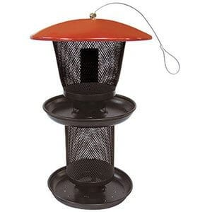 No No Multi Seed Feeder Red and Black RBMS00341