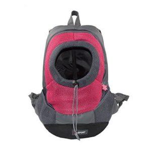 Pashion Breathable Double-Shoulder Dog Backpack