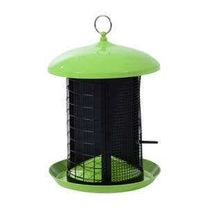 Pawhut Triple Chamber Squirrel Resistant Outdoor Bird Feeder