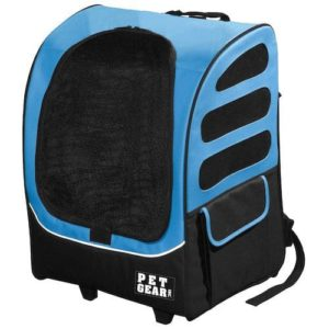 Pet Gear I-GO2 Plus Traveler Rolling Backpack Carrier