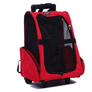 Pettom Roll Around 4-in-1 Pet Carrier Travel Backpack 23666280da