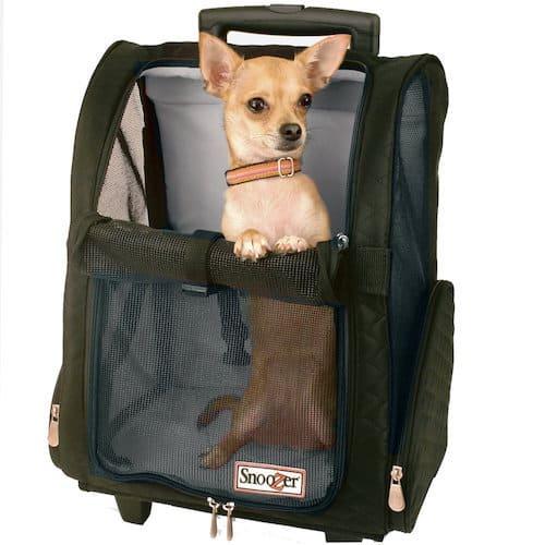 Snoozer Wheel Around Travel Pet Carrier