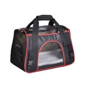Soyan Deluxe Pet Travel Carrier Soft Side Suitable for Cats and Small Dogs Comes with Shoulder Strap
